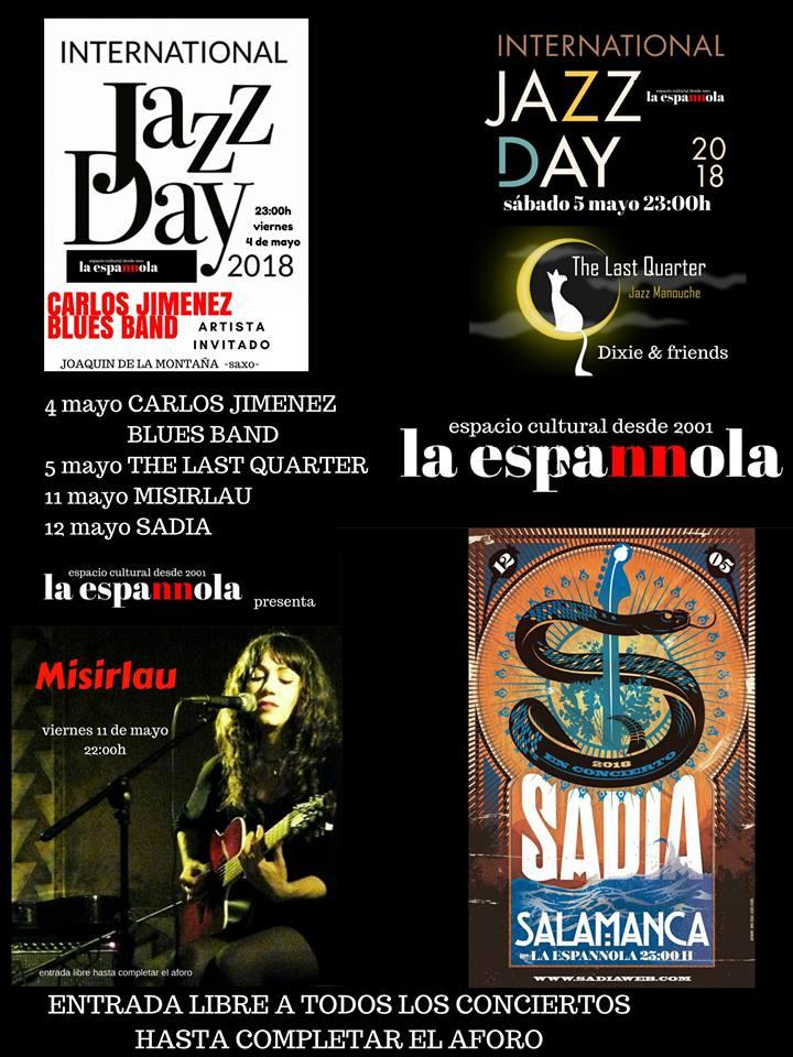 La Espannola Salamanca Mayo 2018