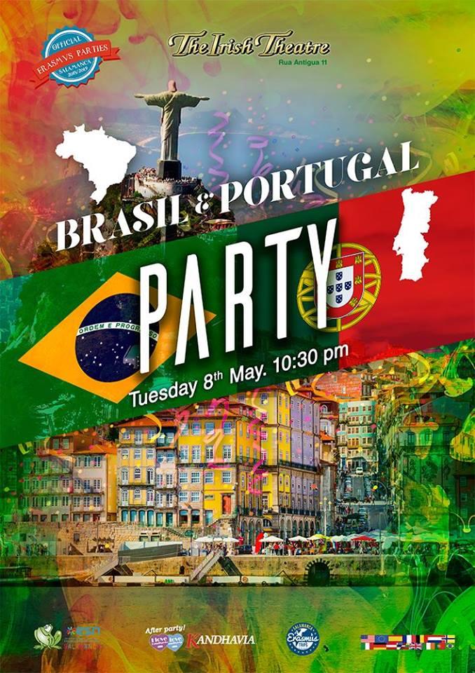 The Irish Theatre Fiesta Portuguesa y Brasileña Salamanca Mayo 2018