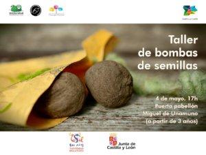Salamanca Taller de bombas de semillas Colectivo Bellotero Mayo 2018