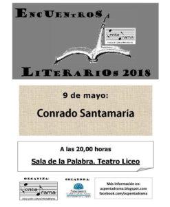 Teatro Liceo Conrado Santamaría Bastida Pentadrama Salamanca Mayo 2018