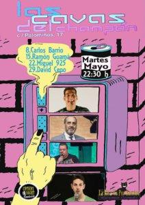 Las Cavas del Champán Comedy Night Salamanca Mayo 2018