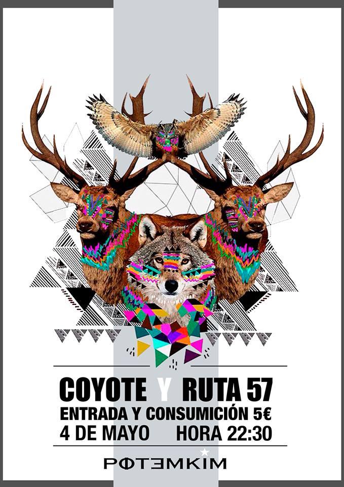 Potemkim Coyote + Ruta 57 Salamanca Mayo 2018