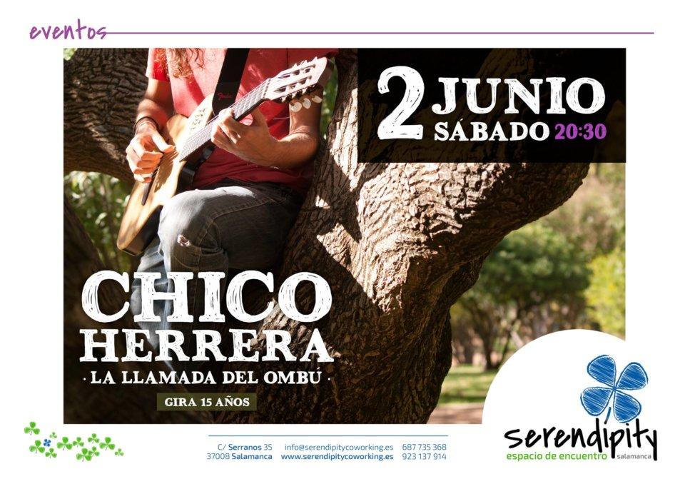 Serendípity Chico Herrera Salamanca Junio 2018
