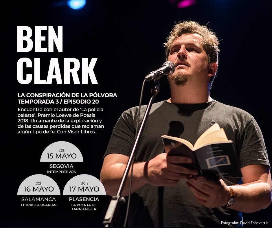 Letras Corsarias Ben Clark Salamanca Mayo 2018