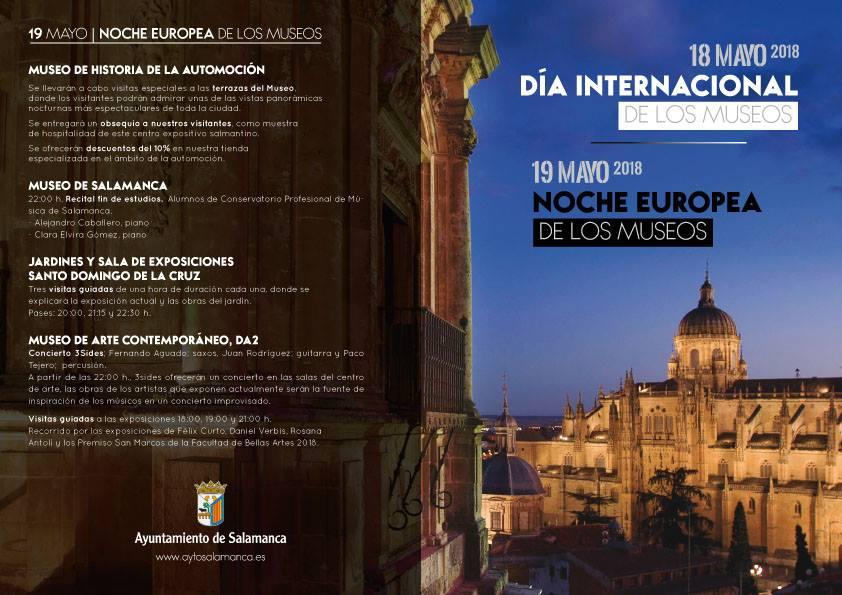 ... Salamanca Noche Europea de los Museos Mayo 2018