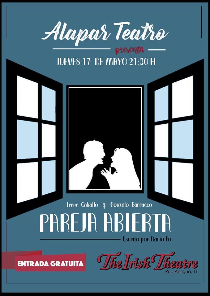 The Irish Theatre Alapar Teatro Pareja Abierta Salamanca Mayo 2018