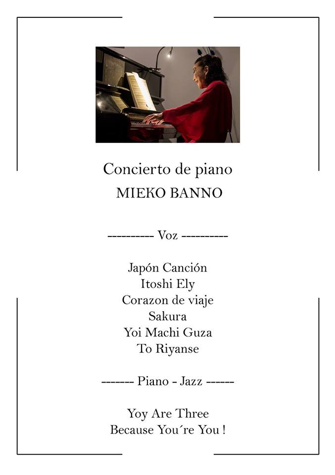 Serendípity Mieko Banno Salamanca Mayo 2018