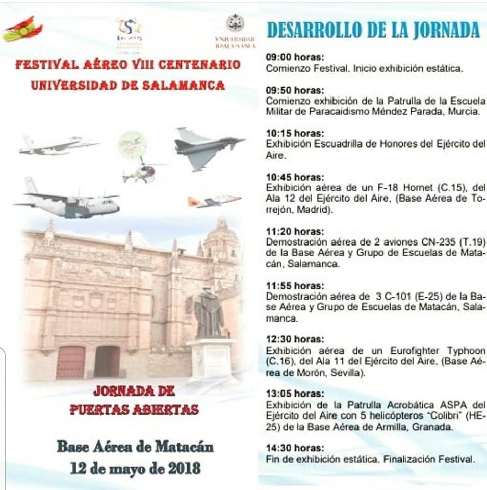 Matacán Jornada de Puertas Abiertas Villagonzalo de Tormes Mayo 2018