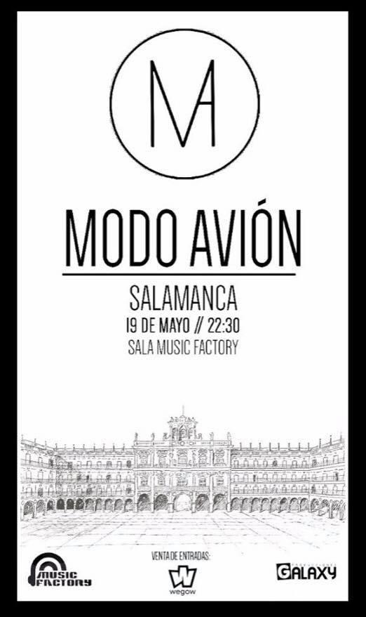 Music Factory Modo Avión Salamanca Mayo 2018