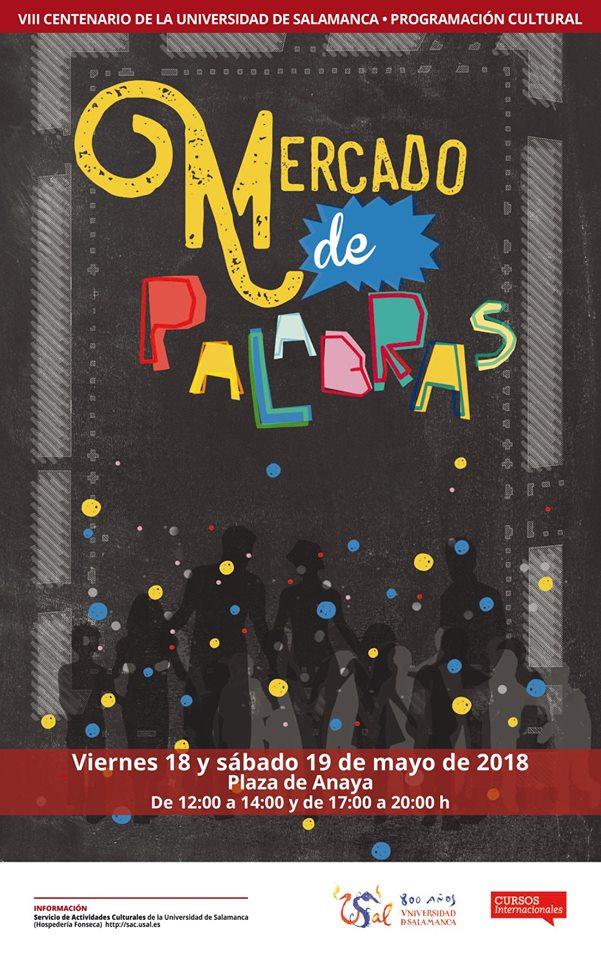 Plaza de Anaya Mercado de Palabras Salamanca Mayo 2018