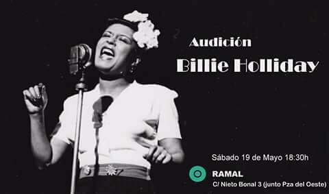 Ramal Audición Billie Holliday Salamanca Mayo 2018
