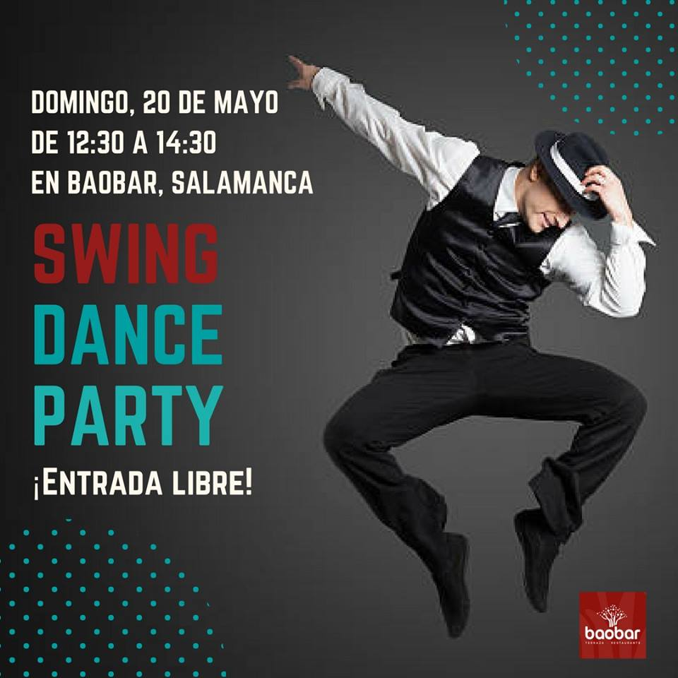Baobar Swing Dance Party Salamanca Mayo 2018