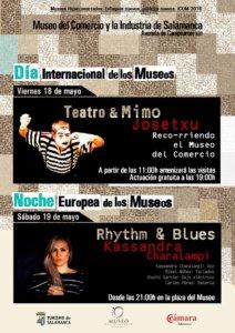 Museo del Comercio y de la Industria Día Internacional de los Museos y Noche Europea de los Museos Salamanca Mayo 201836866367488_n
