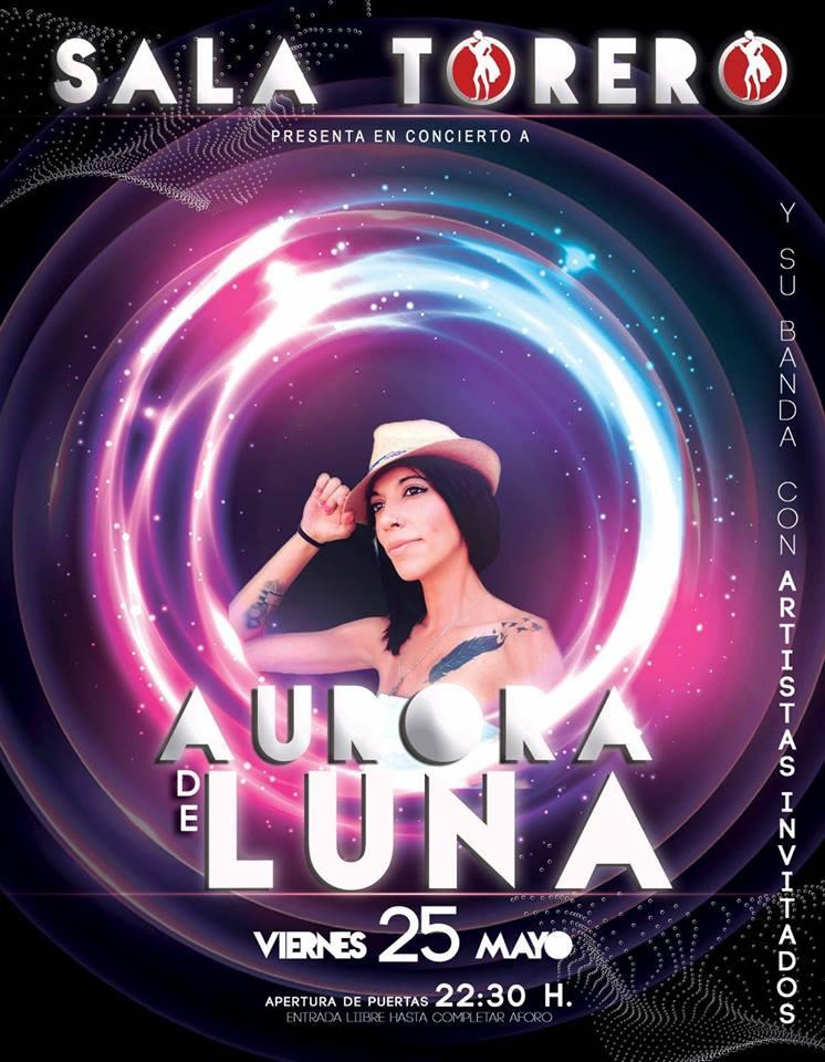 Sala Torero Aurora de Luna Salamanca Mayo 2018