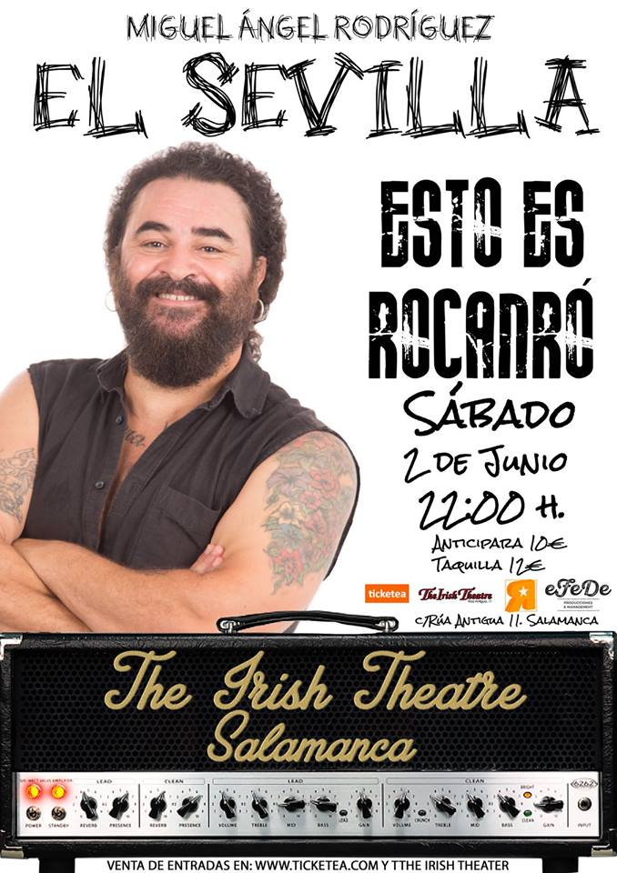 The Irish Theatre Miguel Ángel Rodríguez El Sevilla Salamanca Junio 2018