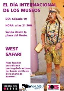 Plaza del Oeste Kamaru Teatro West Safari Salamanca Mayo 2018