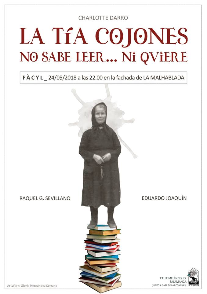 FÀCYL 2018 La tía cojones no sabe leer... Ni quiere Salamanca Mayo