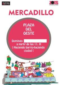 Plaza del Oeste Mercadillo Salamanca Mayo 2018