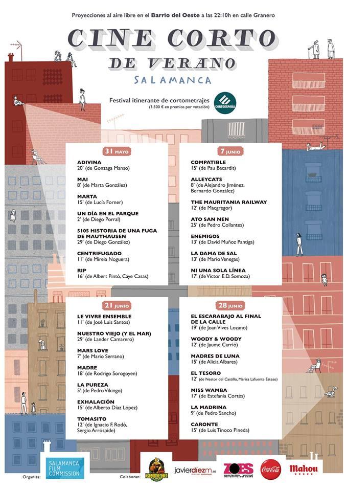 Bar Granero Cine Corto de Verano Salamanca 2018