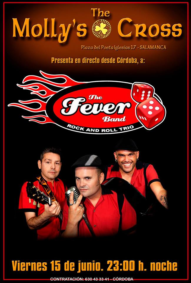 The Molly's Cross The Fever Band Salamanca Junio 2018