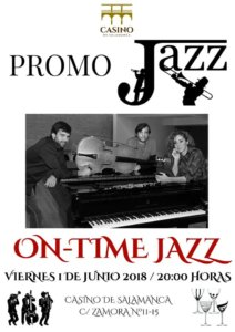 Casino de Salamanca On-Time Jazz Salamanca Junio 2018