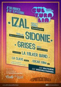 Sánchez Paraíso Culturalia Sound Festival Salamanca Septiembre 2018