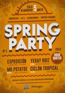 Espacio Almargen Spring Party Salamanca Mayo 2018