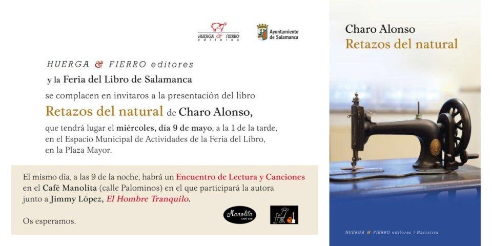 Manolita Café Bar Charo Alonso y El Hombre Tranquilo Salamanca Mayo 2018