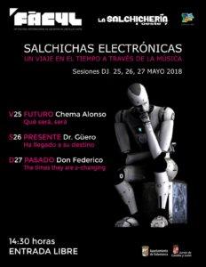FÀCYL 2018 Salchichas Electrónicas Salamanca Mayo