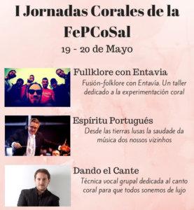 Conservatorio Profesional de Música de Salamanca I Jornadas Corales Salmantinas Mayo 2018