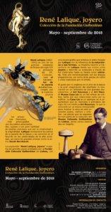 Museo de Art Nouveau y Art Déco Casa Lis René Lalique, joyero. Colección Fundación Gulbenkian Salamanca 2018
