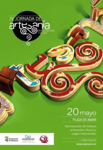 Plaza de Anaya IV Jornada de Artesanía Salamanca Mayo 2018