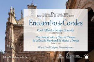 San Esteban Encuentro de Corales Salamanca Mayo 2018