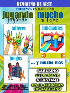 Barceino Fiesta de los Juegos Remolino de Arte Mayo 2018