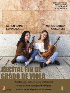 Conservatorio Profesional de Música de Salamanca Keren Sainz y Nerea García Mayo 2018
