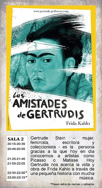 La Malhablada Las amistades de Gertrudis Salamanca Mayo 2018