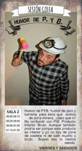 La Malhablada Humor de P.Y.B. Sesión Golfa Salamanca Mayo 2018