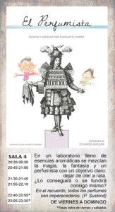 La Malhablada El perfumista Salamanca Mayo 2018