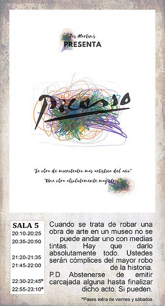 La Malhablada Picasso Salamanca Mayo 2018