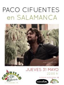 Café Corrillo Paco Cifuentes Salamanca Mayo 2018