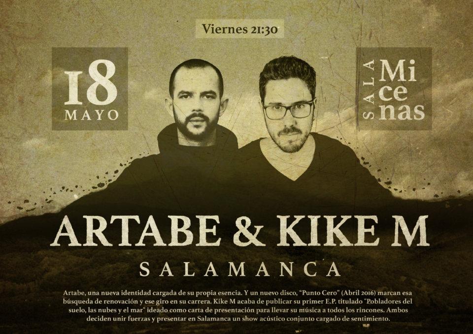 Sala Micenas Adarsa Artabe + Kike M Salamanca Mayo 2018