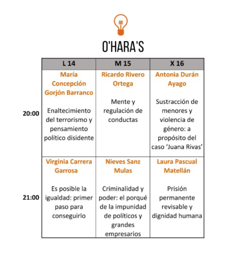 O'Hara's Festival Pint of Science Salamanca Mayo 2018