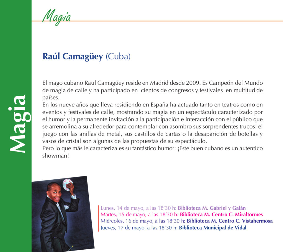 Salamanca Raúl Camagüey Mayo 2018