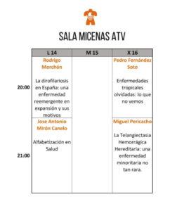 Sala Micenas Adarsa Festival Pint of Science Salamanca Mayo 2018