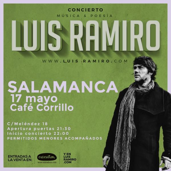 Café Corrillo Luis Ramiro Salamanca Mayo 2018
