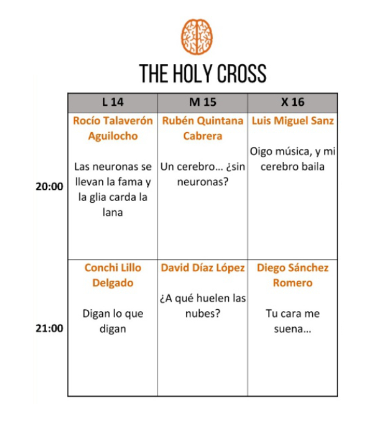 The Holy Cross Festival Pint of Science Salamanca Mayo 2018