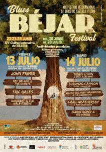 Béjar XIX Festival Internacional de Blues de Castilla y León Blues Béjar Festival 2018 Julio