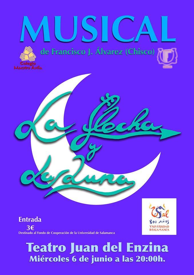 Aula Teatro Juan del Enzina La flecha y la luna Salamanca Junio 2018