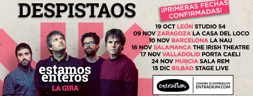 The Irish Theatre Despistaos Salamanca Noviembre 2018