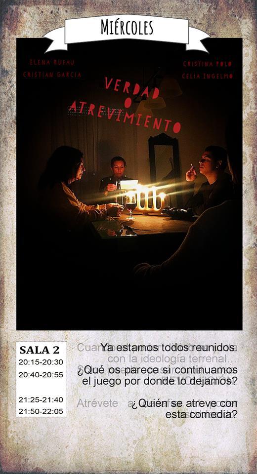La Malhablada Verdad o atrevimiento Salamanca Junio 2018